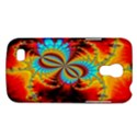 Crazy Mandelbrot Fractal Red Yellow Turquoise Galaxy S4 Mini View1