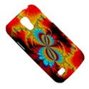 Crazy Mandelbrot Fractal Red Yellow Turquoise Galaxy S4 Mini View5