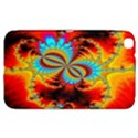 Crazy Mandelbrot Fractal Red Yellow Turquoise Samsung Galaxy Tab 3 (8 ) T3100 Hardshell Case  View1