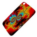 Crazy Mandelbrot Fractal Red Yellow Turquoise Samsung Galaxy Tab 3 (8 ) T3100 Hardshell Case  View4