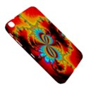 Crazy Mandelbrot Fractal Red Yellow Turquoise Samsung Galaxy Tab 3 (8 ) T3100 Hardshell Case  View5