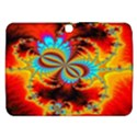 Crazy Mandelbrot Fractal Red Yellow Turquoise Samsung Galaxy Tab 3 (10.1 ) P5200 Hardshell Case  View1