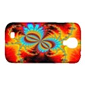 Crazy Mandelbrot Fractal Red Yellow Turquoise Samsung Galaxy S4 Classic Hardshell Case (PC+Silicone) View1