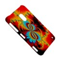 Crazy Mandelbrot Fractal Red Yellow Turquoise Nokia Lumia 620 View5