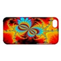 Crazy Mandelbrot Fractal Red Yellow Turquoise Apple iPhone 5C Hardshell Case View1