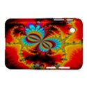 Crazy Mandelbrot Fractal Red Yellow Turquoise Samsung Galaxy Tab 2 (7 ) P3100 Hardshell Case  View1