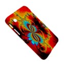 Crazy Mandelbrot Fractal Red Yellow Turquoise Samsung Galaxy Tab 2 (7 ) P3100 Hardshell Case  View5