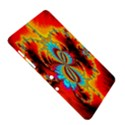 Crazy Mandelbrot Fractal Red Yellow Turquoise Samsung Galaxy Tab 2 (10.1 ) P5100 Hardshell Case  View5