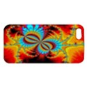 Crazy Mandelbrot Fractal Red Yellow Turquoise iPhone 5S/ SE Premium Hardshell Case View1