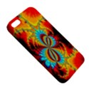Crazy Mandelbrot Fractal Red Yellow Turquoise iPhone 5S/ SE Premium Hardshell Case View5