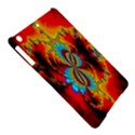 Crazy Mandelbrot Fractal Red Yellow Turquoise iPad Air Hardshell Cases View5