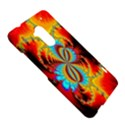 Crazy Mandelbrot Fractal Red Yellow Turquoise HTC One Max (T6) Hardshell Case View5