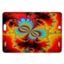 Crazy Mandelbrot Fractal Red Yellow Turquoise Amazon Kindle Fire HD (2013) Hardshell Case View1