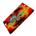 Crazy Mandelbrot Fractal Red Yellow Turquoise Kindle Fire HDX 8.9  Hardshell Case View4