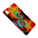 Crazy Mandelbrot Fractal Red Yellow Turquoise Sony Xperia Z1 View5