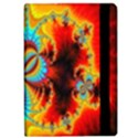 Crazy Mandelbrot Fractal Red Yellow Turquoise iPad Air Flip View2
