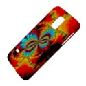 Crazy Mandelbrot Fractal Red Yellow Turquoise Galaxy S5 Mini View4