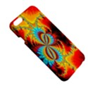 Crazy Mandelbrot Fractal Red Yellow Turquoise Apple iPhone 6 Plus/6S Plus Hardshell Case View5