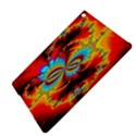 Crazy Mandelbrot Fractal Red Yellow Turquoise iPad Air 2 Hardshell Cases View4
