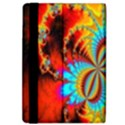 Crazy Mandelbrot Fractal Red Yellow Turquoise iPad Air 2 Flip View4