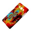 Crazy Mandelbrot Fractal Red Yellow Turquoise Samsung Galaxy A5 Hardshell Case  View4
