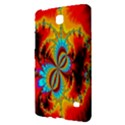 Crazy Mandelbrot Fractal Red Yellow Turquoise Samsung Galaxy Tab 4 (7 ) Hardshell Case  View2