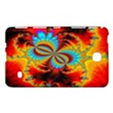 Crazy Mandelbrot Fractal Red Yellow Turquoise Samsung Galaxy Tab 4 (8 ) Hardshell Case  View1