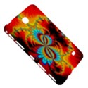 Crazy Mandelbrot Fractal Red Yellow Turquoise Samsung Galaxy Tab 4 (8 ) Hardshell Case  View5