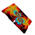 Crazy Mandelbrot Fractal Red Yellow Turquoise Samsung Galaxy Tab S (10.5 ) Hardshell Case  View5