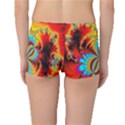 Crazy Mandelbrot Fractal Red Yellow Turquoise Boyleg Bikini Bottoms View2