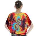 Crazy Mandelbrot Fractal Red Yellow Turquoise Blouse View2