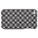 Modern Dots In Squares Mosaic Black White Apple iPhone 3G/3GS Hardshell Case View1
