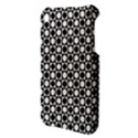 Modern Dots In Squares Mosaic Black White Apple iPhone 3G/3GS Hardshell Case View3