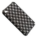 Modern Dots In Squares Mosaic Black White Apple iPhone 3G/3GS Hardshell Case View5
