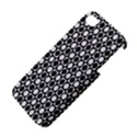 Modern Dots In Squares Mosaic Black White Apple iPhone 4/4S Hardshell Case View4