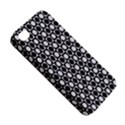 Modern Dots In Squares Mosaic Black White Apple iPhone 4/4S Hardshell Case View5
