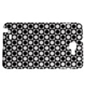 Modern Dots In Squares Mosaic Black White Samsung Galaxy Note 1 Hardshell Case View1