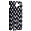 Modern Dots In Squares Mosaic Black White Samsung Galaxy Note 1 Hardshell Case View2