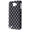 Modern Dots In Squares Mosaic Black White Samsung Galaxy Note 1 Hardshell Case View3