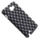 Modern Dots In Squares Mosaic Black White Samsung Galaxy Note 1 Hardshell Case View5