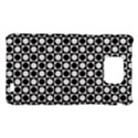 Modern Dots In Squares Mosaic Black White Samsung Galaxy S2 i9100 Hardshell Case  View1