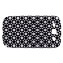 Modern Dots In Squares Mosaic Black White Samsung Galaxy S III Hardshell Case  View1
