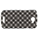 Modern Dots In Squares Mosaic Black White HTC One S Hardshell Case  View1