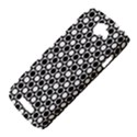 Modern Dots In Squares Mosaic Black White HTC One S Hardshell Case  View4