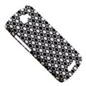 Modern Dots In Squares Mosaic Black White HTC One S Hardshell Case  View5