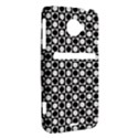 Modern Dots In Squares Mosaic Black White HTC Evo 4G LTE Hardshell Case  View2
