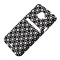 Modern Dots In Squares Mosaic Black White HTC Evo 4G LTE Hardshell Case  View4