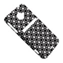 Modern Dots In Squares Mosaic Black White HTC Evo 4G LTE Hardshell Case  View5