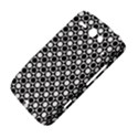 Modern Dots In Squares Mosaic Black White HTC ChaCha / HTC Status Hardshell Case  View4