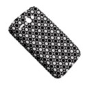 Modern Dots In Squares Mosaic Black White HTC ChaCha / HTC Status Hardshell Case  View5